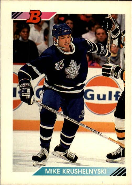 1992-93 Bowman #2 Mike Krushelnyski