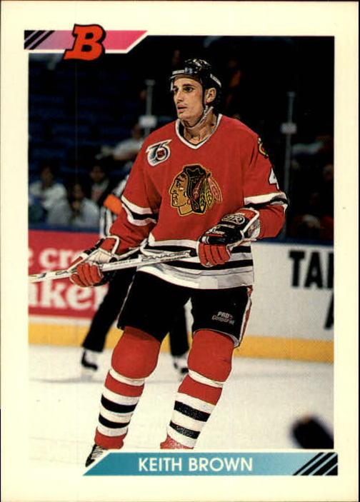 1992-93 Bowman #4 Keith Brown