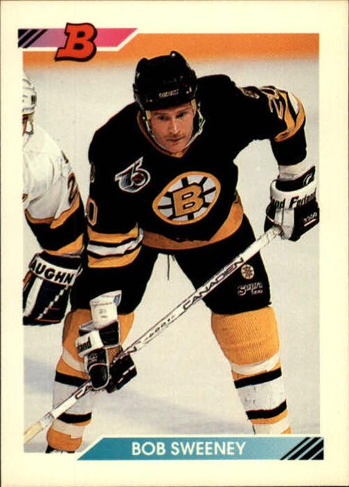 1992-93 Bowman #5 Bob Sweeney