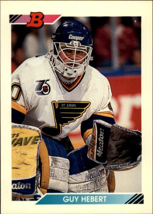 1992-93 Bowman #32 Guy Hebert RC