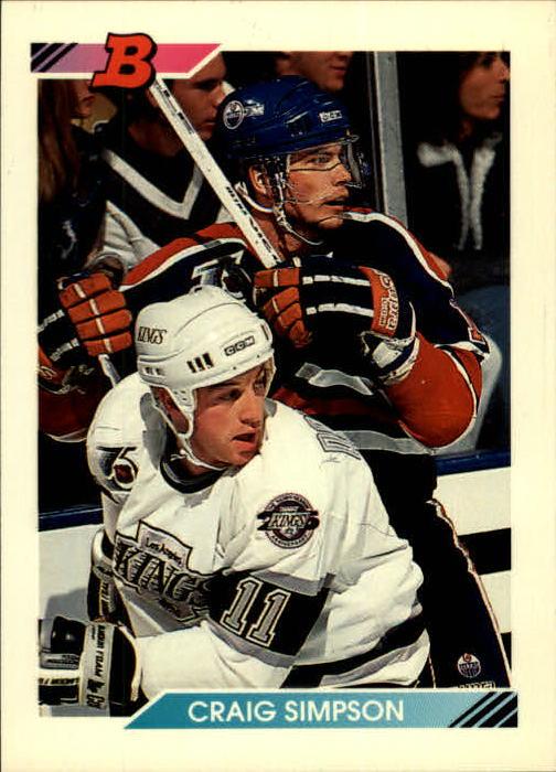 1992-93 Bowman #150 Craig Simpson