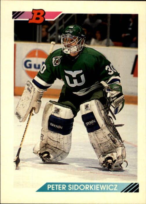 1992-93 Bowman #162 Peter Sidorkiewicz