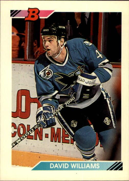 1992-93 Bowman #377 David Williams RC
