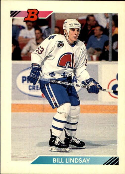 1992-93 Bowman #404 Bill Lindsay RC