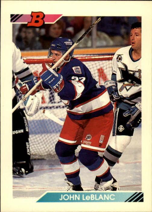 1992-93 Bowman #419 John LeBlanc RC