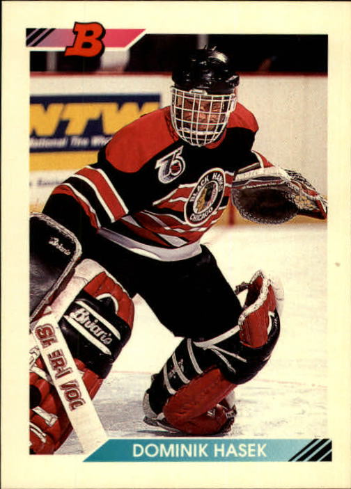 1992-93 Bowman #428 Dominik Hasek