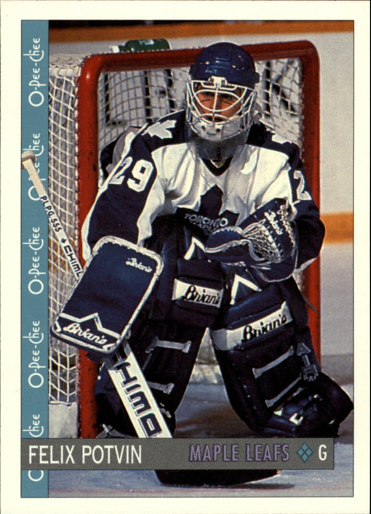 1992-93 O-Pee-Chee #73 Felix Potvin