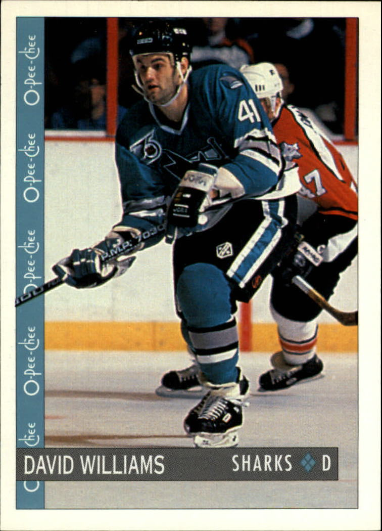 1992-93 O-Pee-Chee #250 David Williams RC