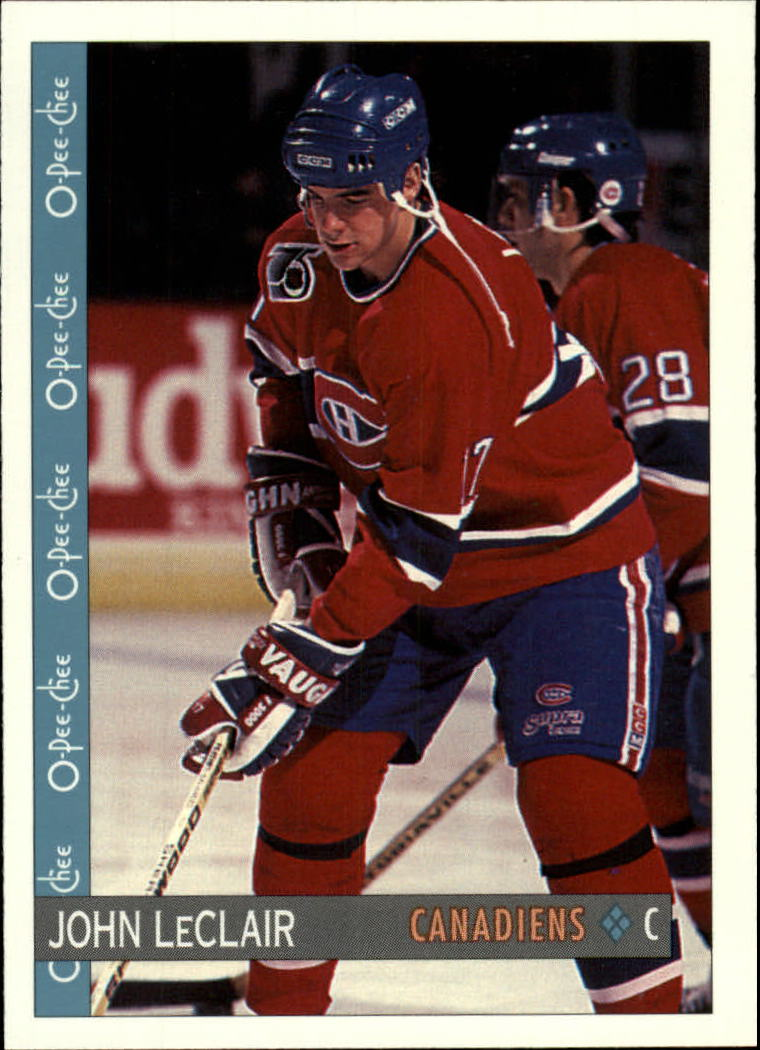 1992-93 O-Pee-Chee #386 John LeClair