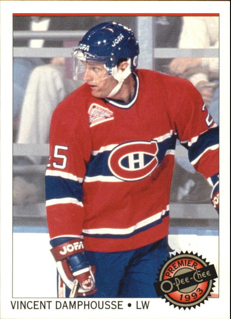 1992-93 OPC Premier #3 Vincent Damphousse