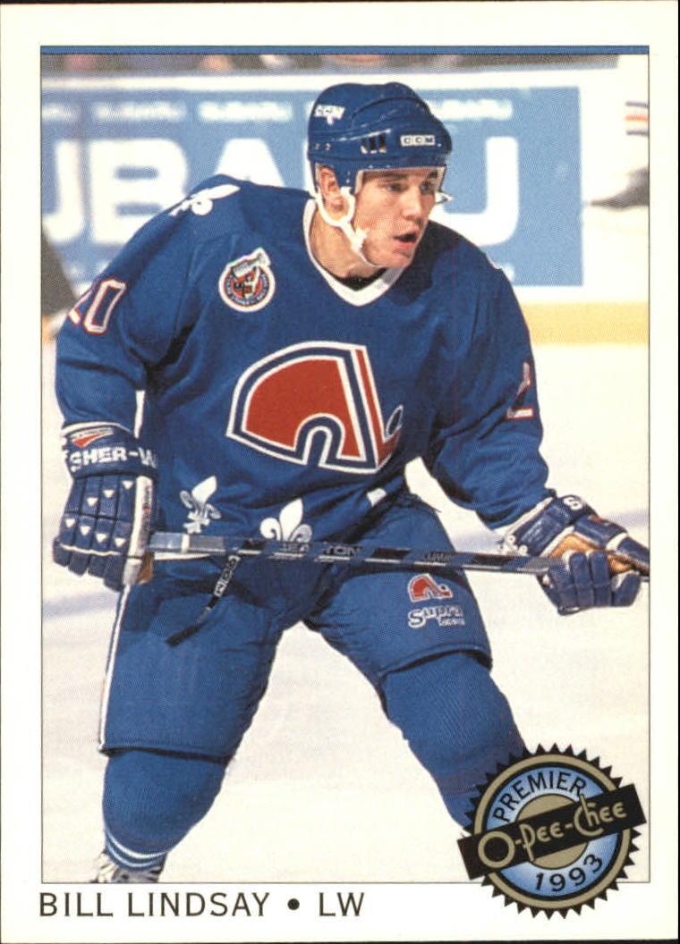 1992-93 OPC Premier #5 Bill Lindsay RC