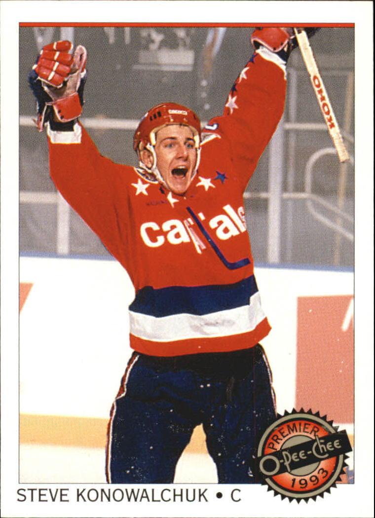 1992-93 OPC Premier #15 Steve Konowalchuk RC