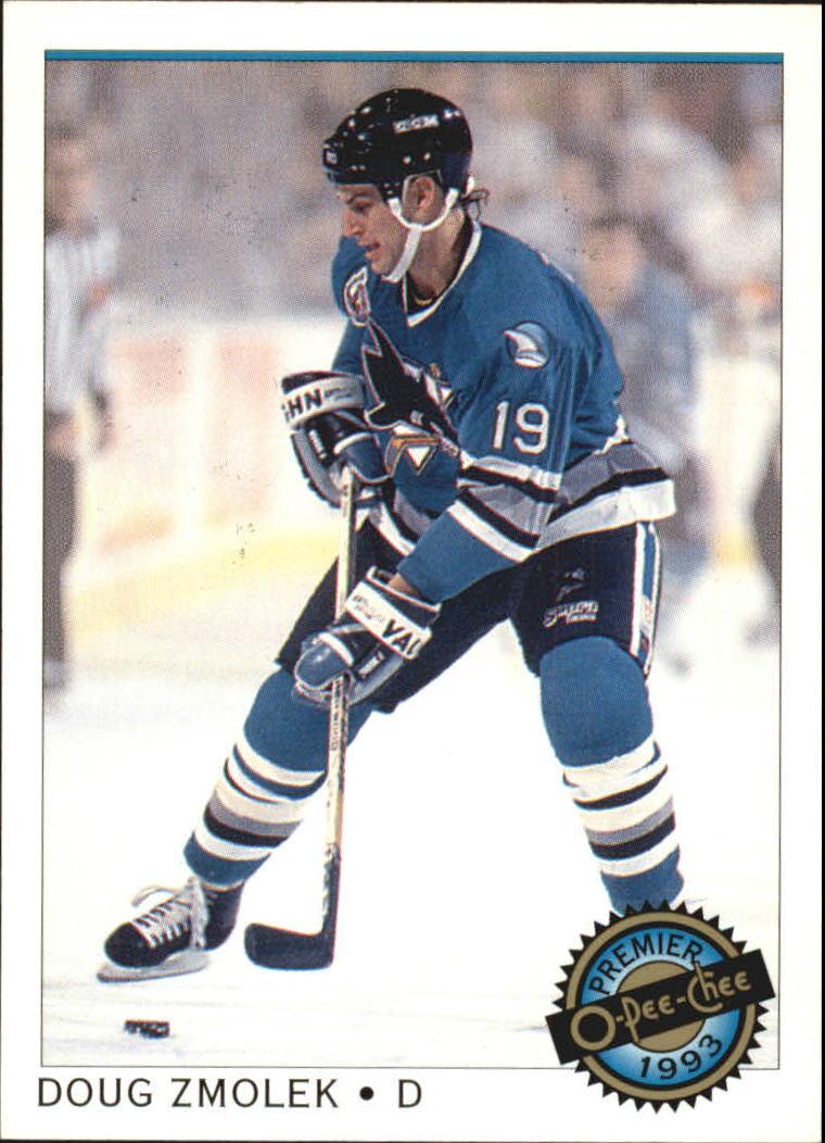 1992-93 OPC Premier #18 Doug Zmolek RC