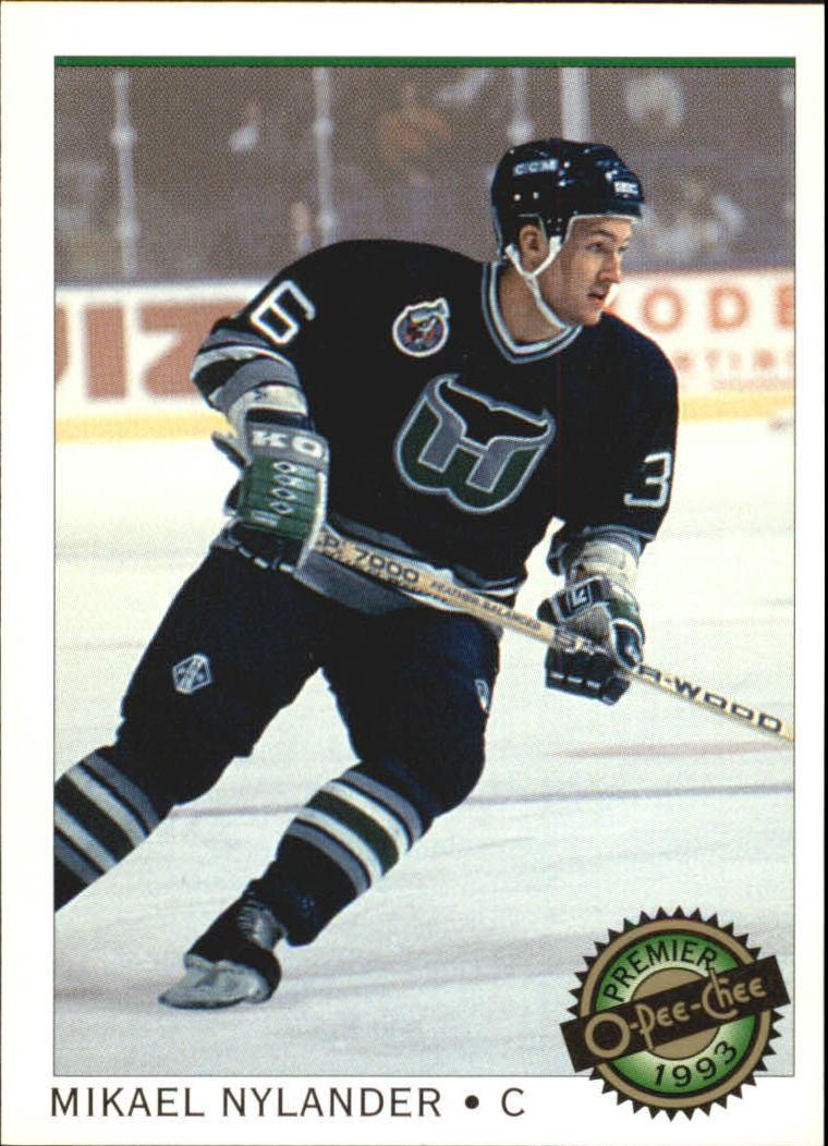 1992-93 OPC Premier #19 Michael Nylander RC