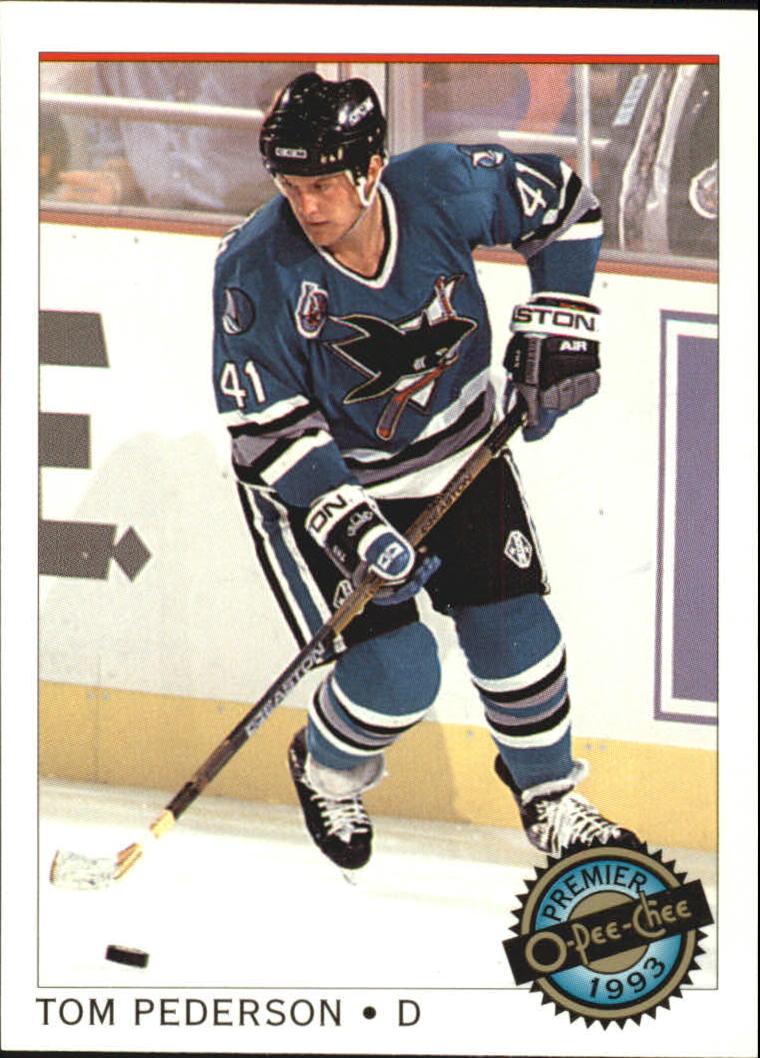 1992-93 OPC Premier #33 Tom Pederson RC