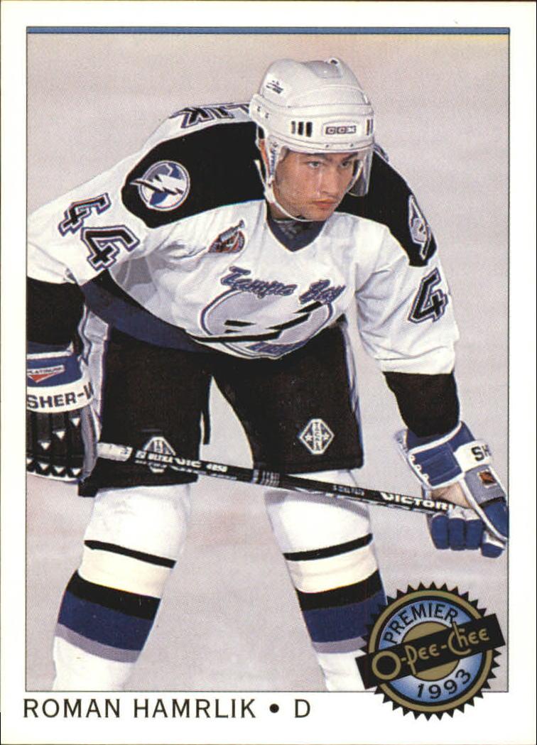 1992-93 OPC Premier #46 Roman Hamrlik RC