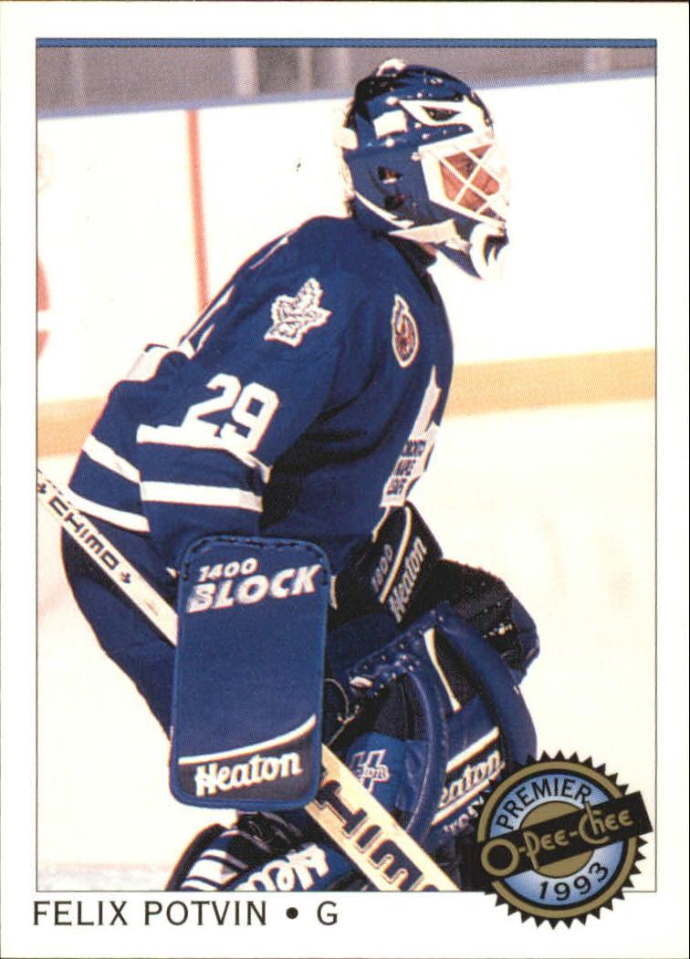 1992-93 OPC Premier #114 Felix Potvin