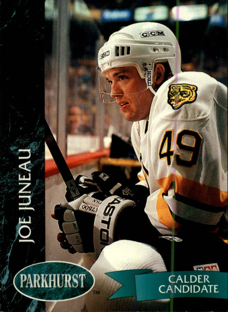 1992-93 Parkhurst #2 Joe Juneau