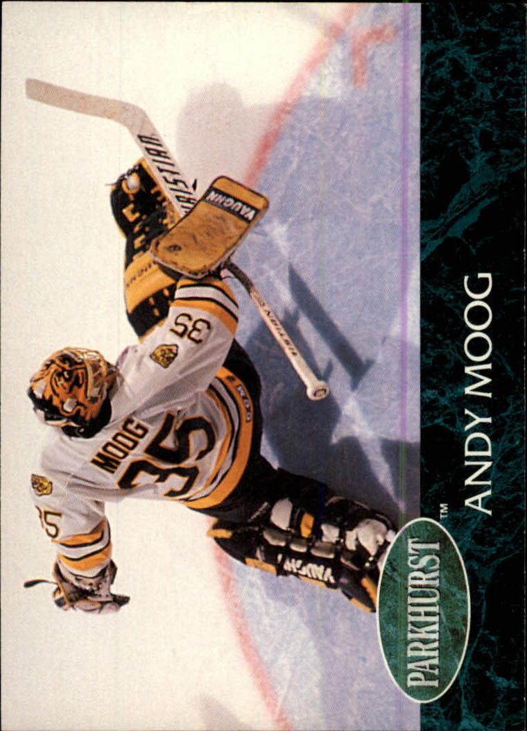 1992-93 Parkhurst #3 Andy Moog
