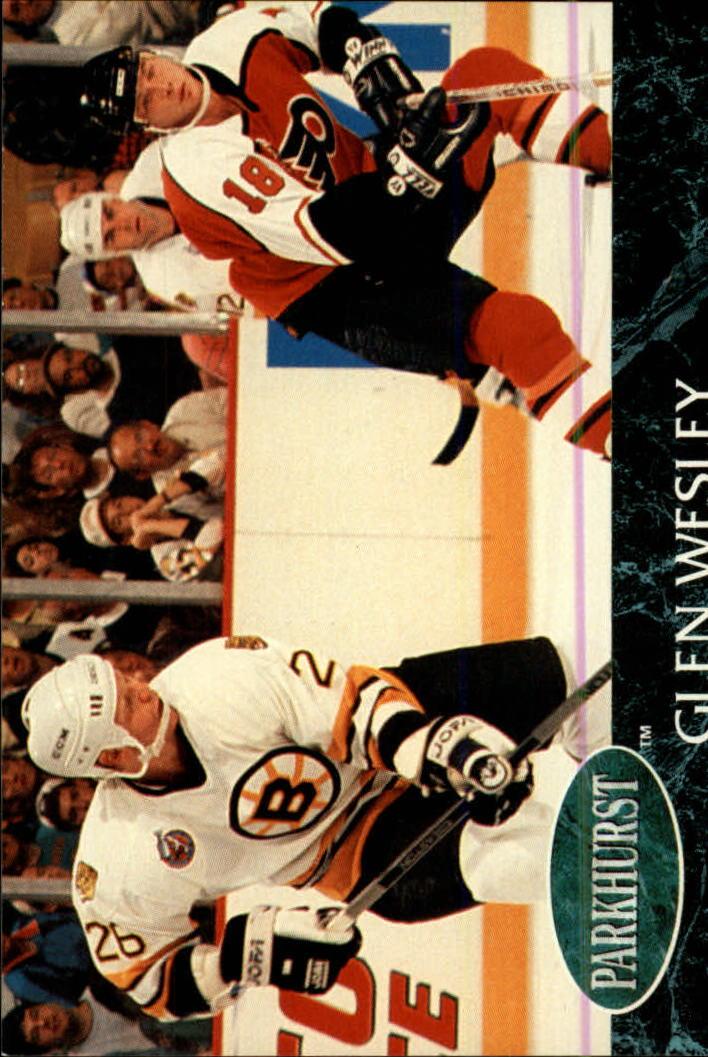 1992-93 Parkhurst #6 Glen Wesley