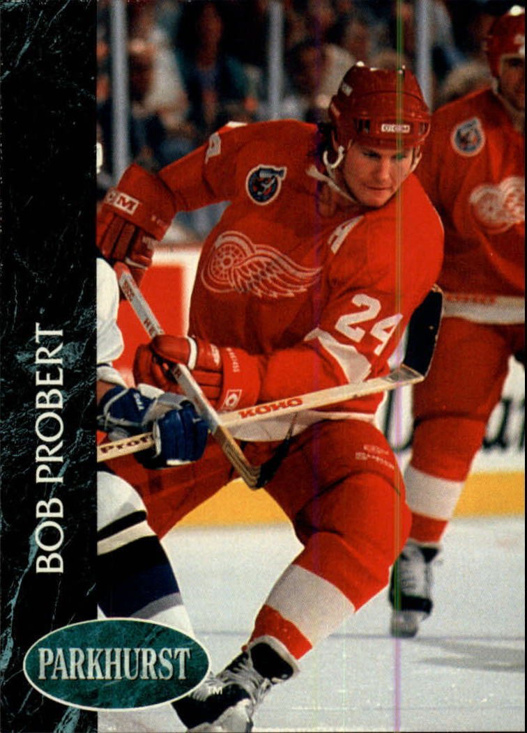 1992-93 Parkhurst #41 Bob Probert