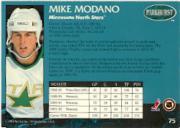 1992-93 Parkhurst #75 Mike Modano back image