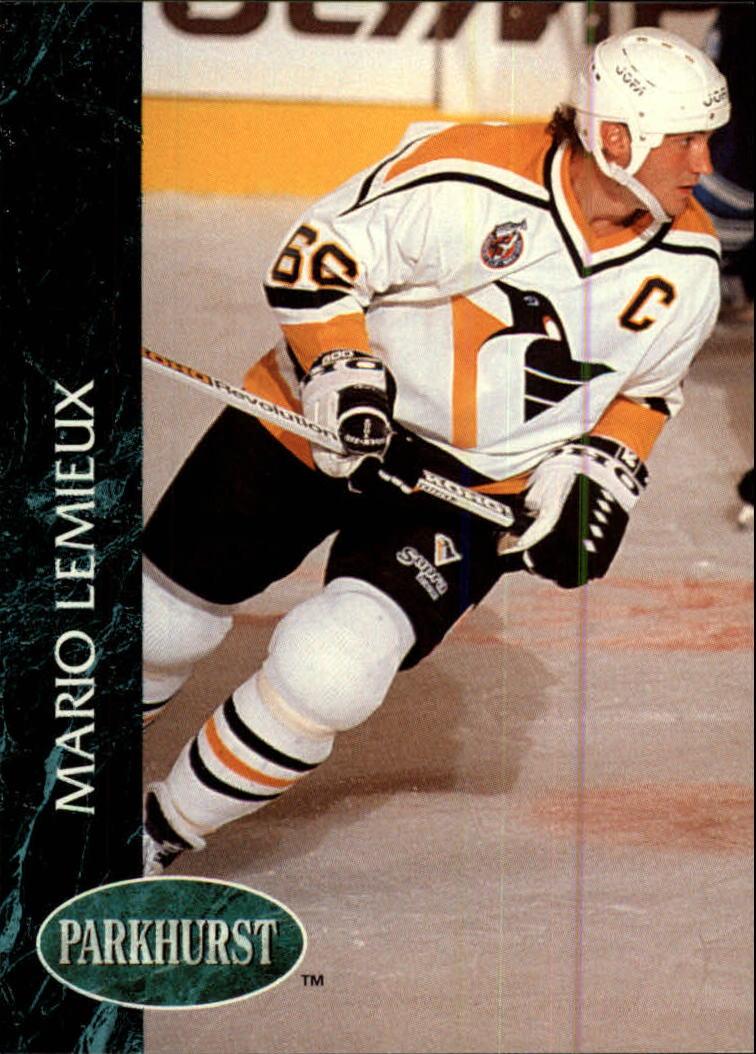1992-93 Parkhurst #136 Mario Lemieux