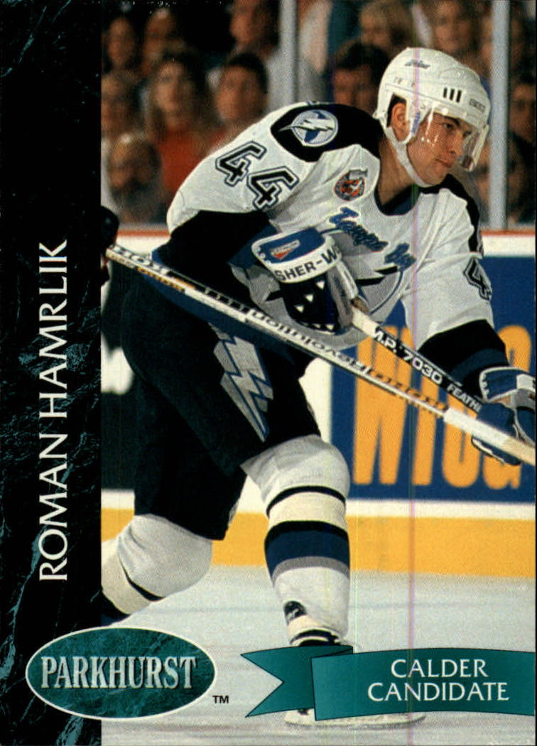 1992-93 Parkhurst #173 Roman Hamrlik RC