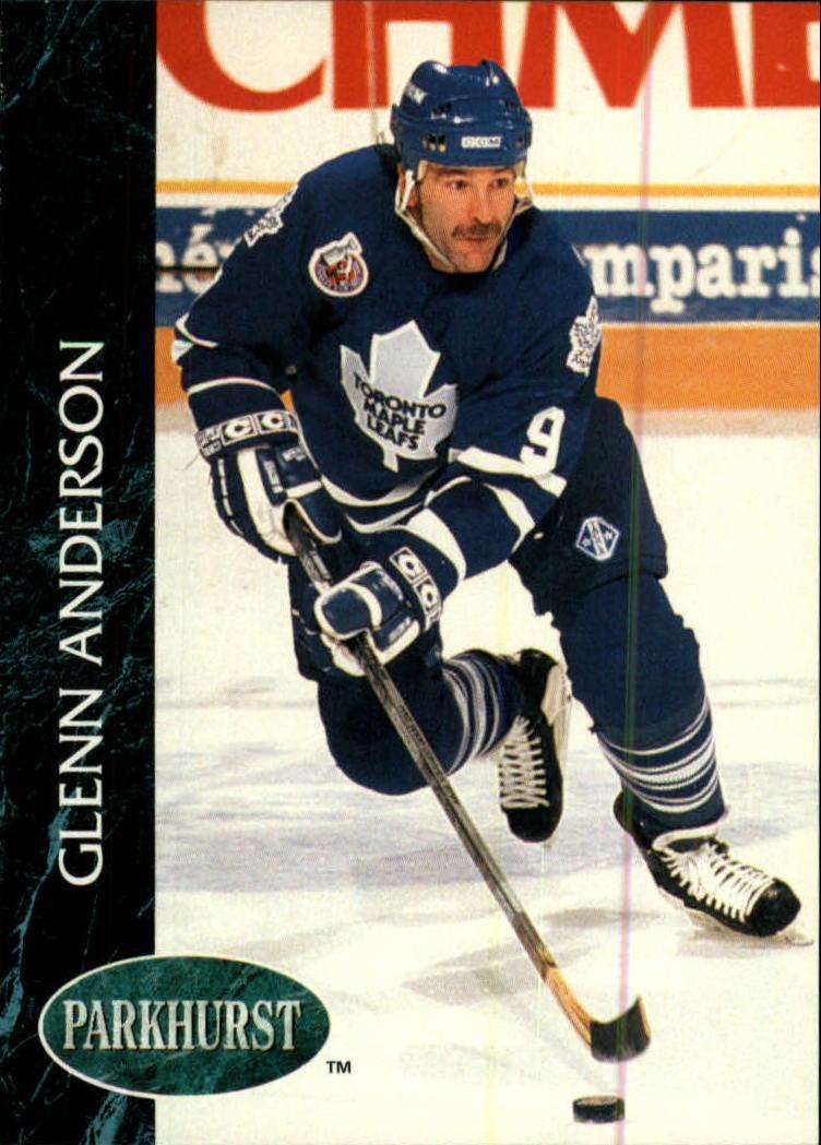 1992-93 Parkhurst #178 Glenn Anderson
