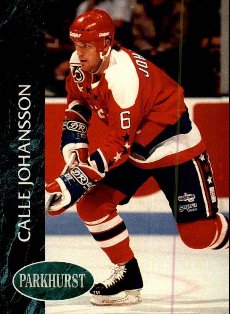1992-93 Parkhurst #201 Calle Johansson