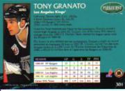 1992-93 Parkhurst #301 Tony Granato back image