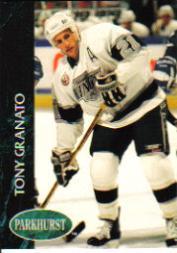 1992-93 Parkhurst #301 Tony Granato