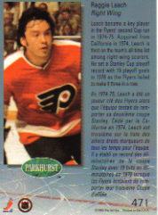 1992-93 Parkhurst #471 Reggie Leach back image