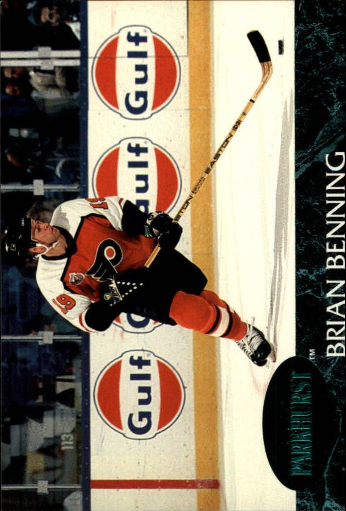 1992-93 Parkhurst Emerald Ice #125 Brian Benning