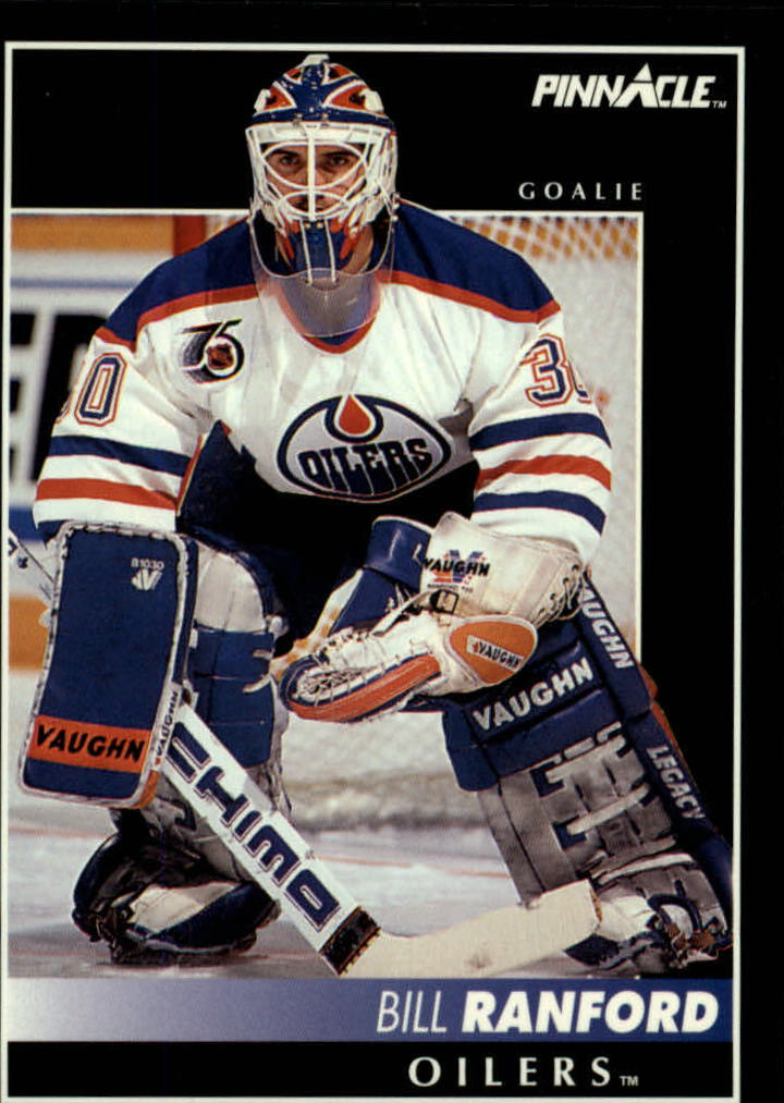 1992-93 Pinnacle #4 Bill Ranford