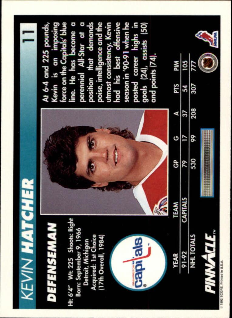 1992-93-Pinnacle-American-HK-039-s-1-210-You-Pick-Buy-10-cards-FREE-SHIP miniature 23
