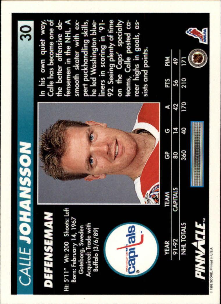 1992-93-Pinnacle-American-HK-039-s-1-210-You-Pick-Buy-10-cards-FREE-SHIP miniature 61