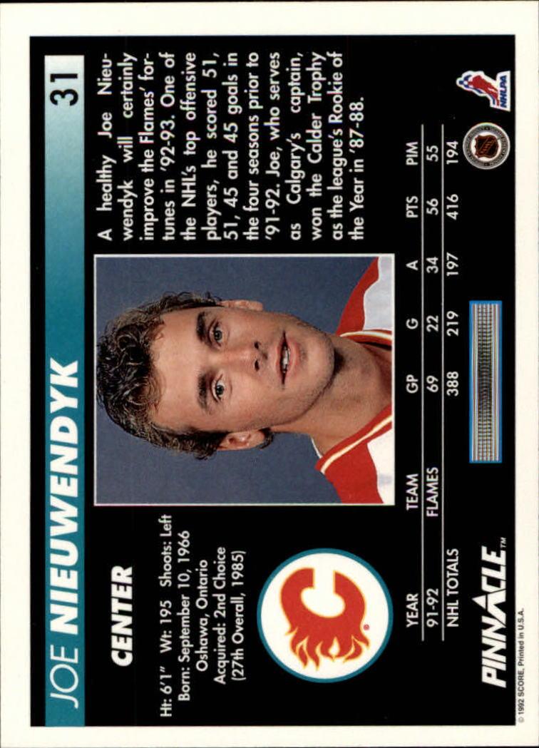 1992-93-Pinnacle-American-HK-039-s-1-210-You-Pick-Buy-10-cards-FREE-SHIP miniature 63
