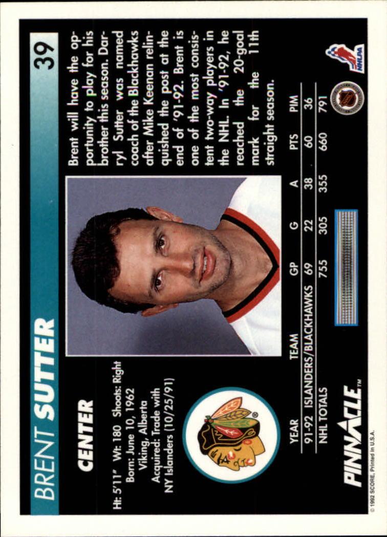 1992-93-Pinnacle-American-HK-039-s-1-210-You-Pick-Buy-10-cards-FREE-SHIP miniature 79