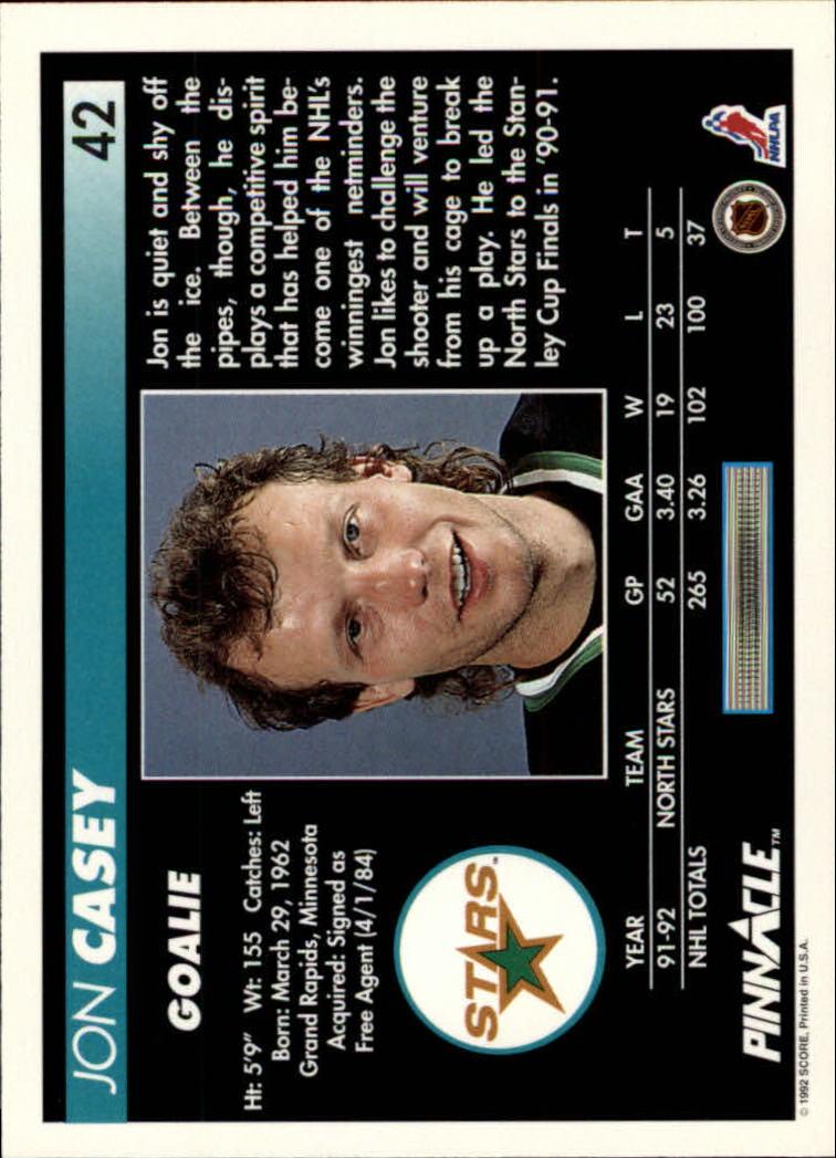 1992-93-Pinnacle-American-HK-039-s-1-210-You-Pick-Buy-10-cards-FREE-SHIP miniature 85