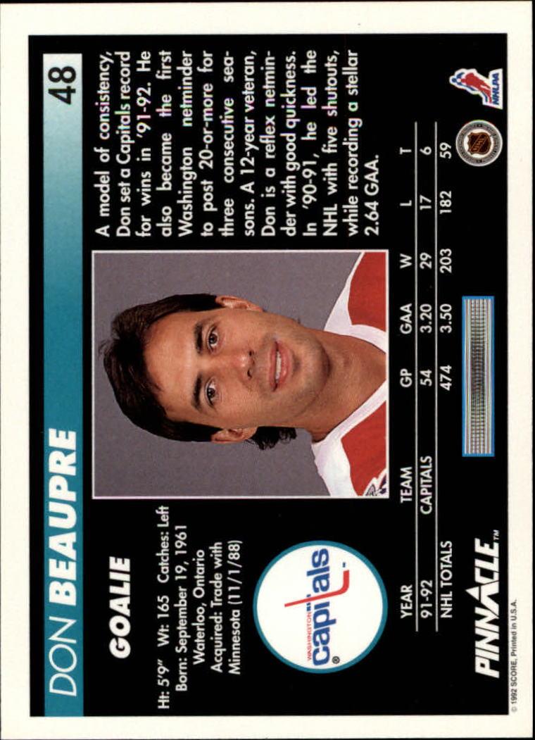 1992-93-Pinnacle-American-HK-039-s-1-210-You-Pick-Buy-10-cards-FREE-SHIP miniature 97