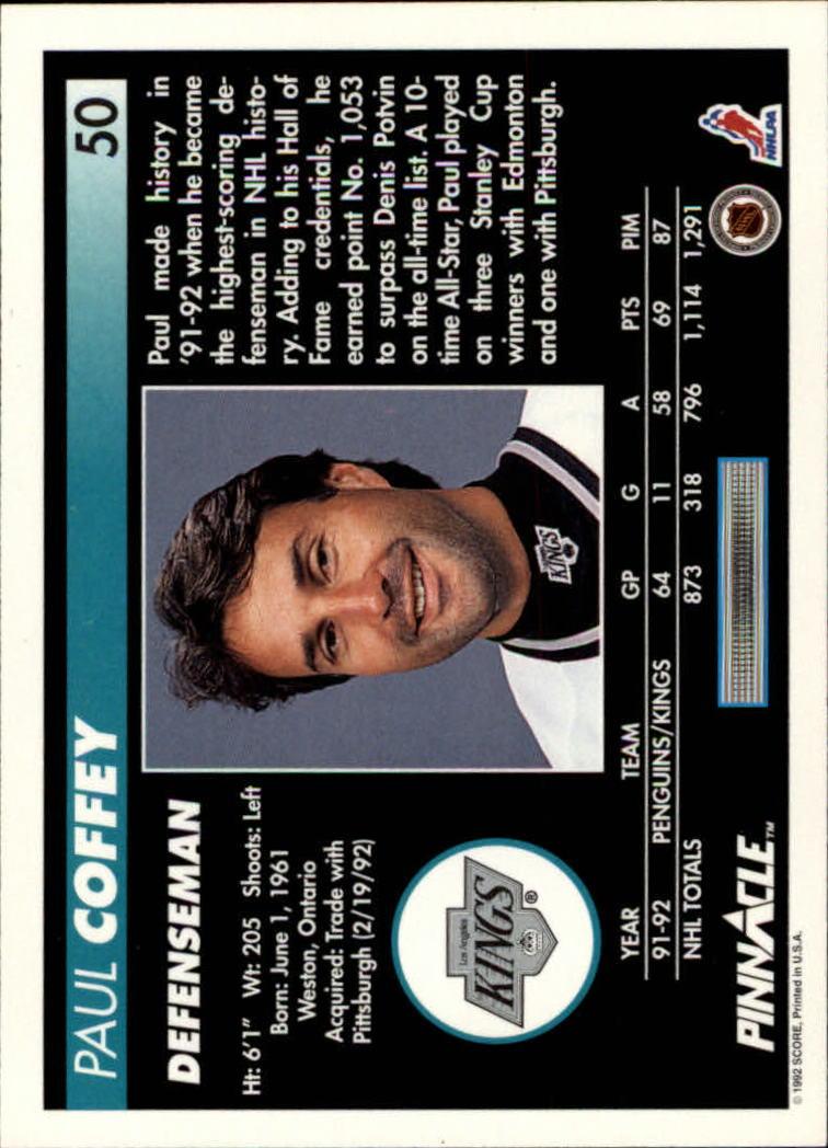 1992-93-Pinnacle-American-HK-039-s-1-210-You-Pick-Buy-10-cards-FREE-SHIP miniature 101