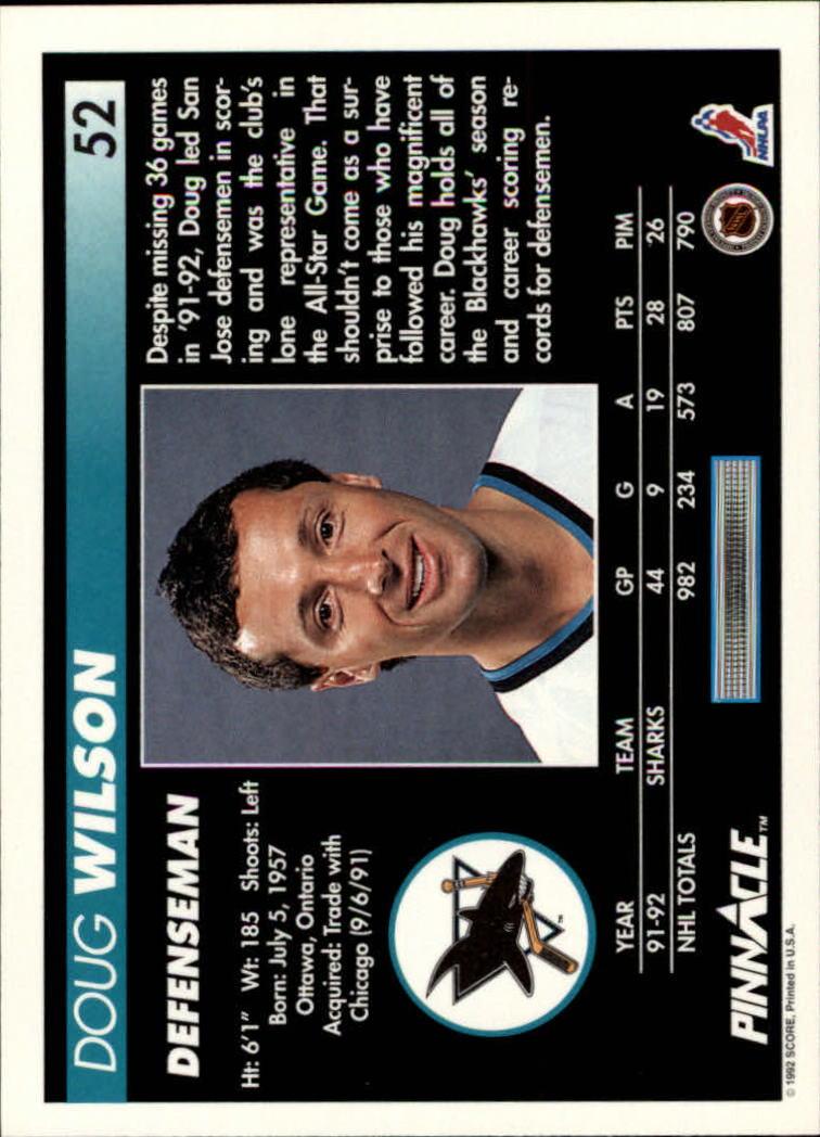 1992-93-Pinnacle-American-HK-039-s-1-210-You-Pick-Buy-10-cards-FREE-SHIP miniature 105