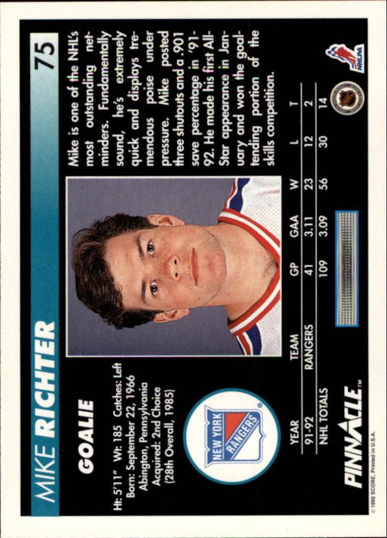 1992-93-Pinnacle-American-HK-039-s-1-210-You-Pick-Buy-10-cards-FREE-SHIP miniature 151