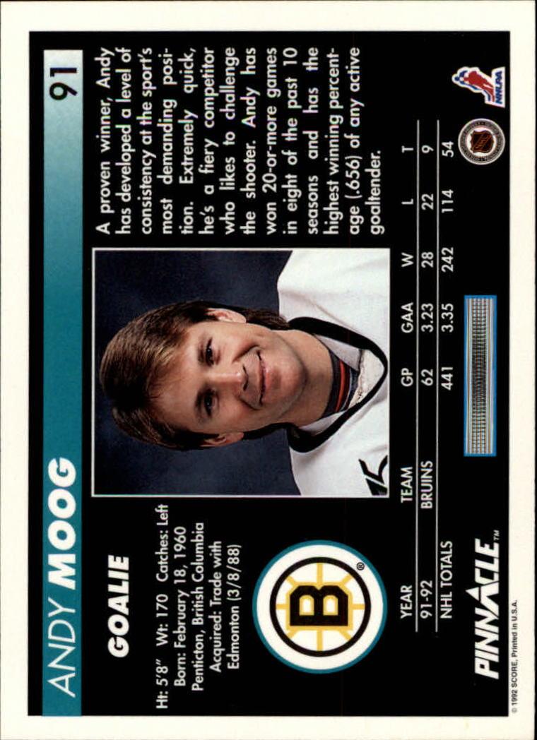 1992-93-Pinnacle-American-HK-039-s-1-210-You-Pick-Buy-10-cards-FREE-SHIP miniature 181