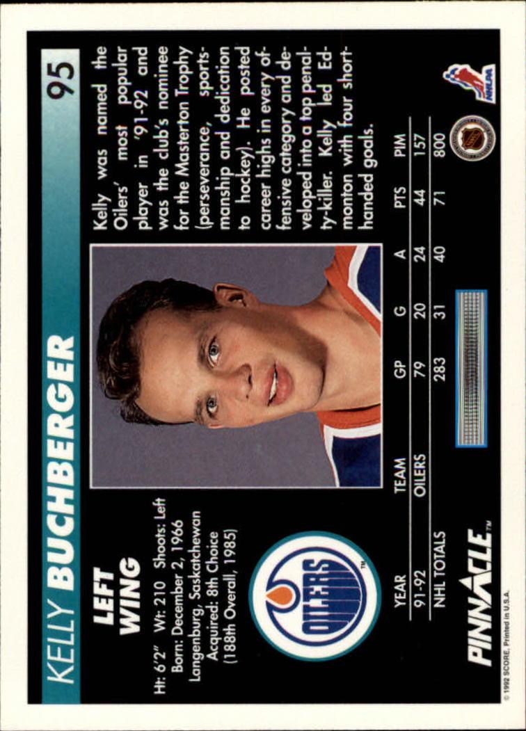1992-93-Pinnacle-American-HK-039-s-1-210-You-Pick-Buy-10-cards-FREE-SHIP miniature 189