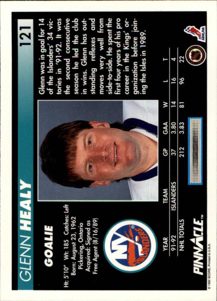1992-93-Pinnacle-American-HK-039-s-1-210-You-Pick-Buy-10-cards-FREE-SHIP miniature 237