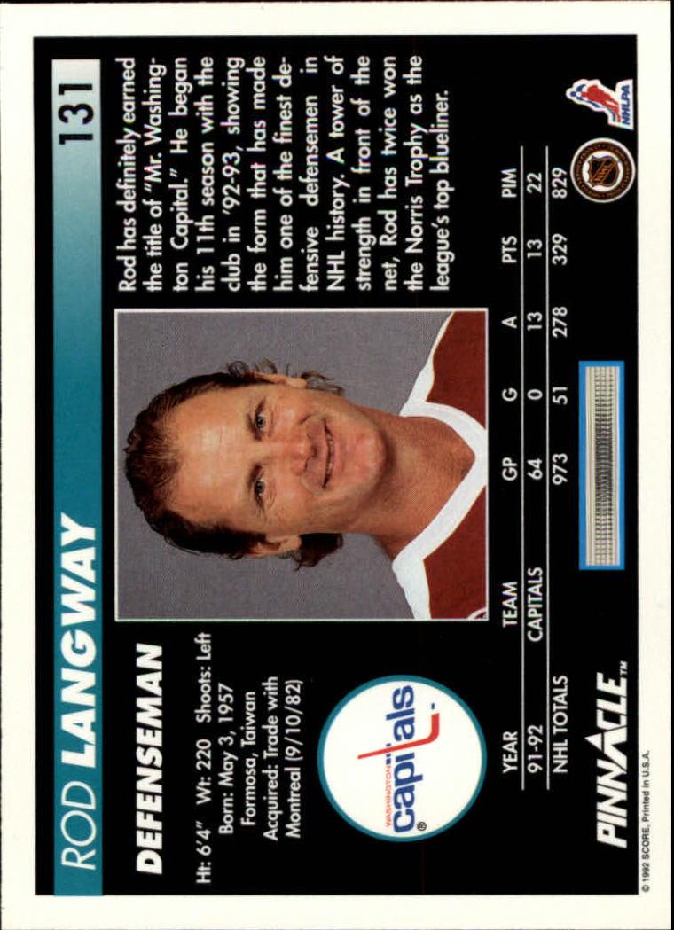1992-93-Pinnacle-American-HK-039-s-1-210-You-Pick-Buy-10-cards-FREE-SHIP miniature 255