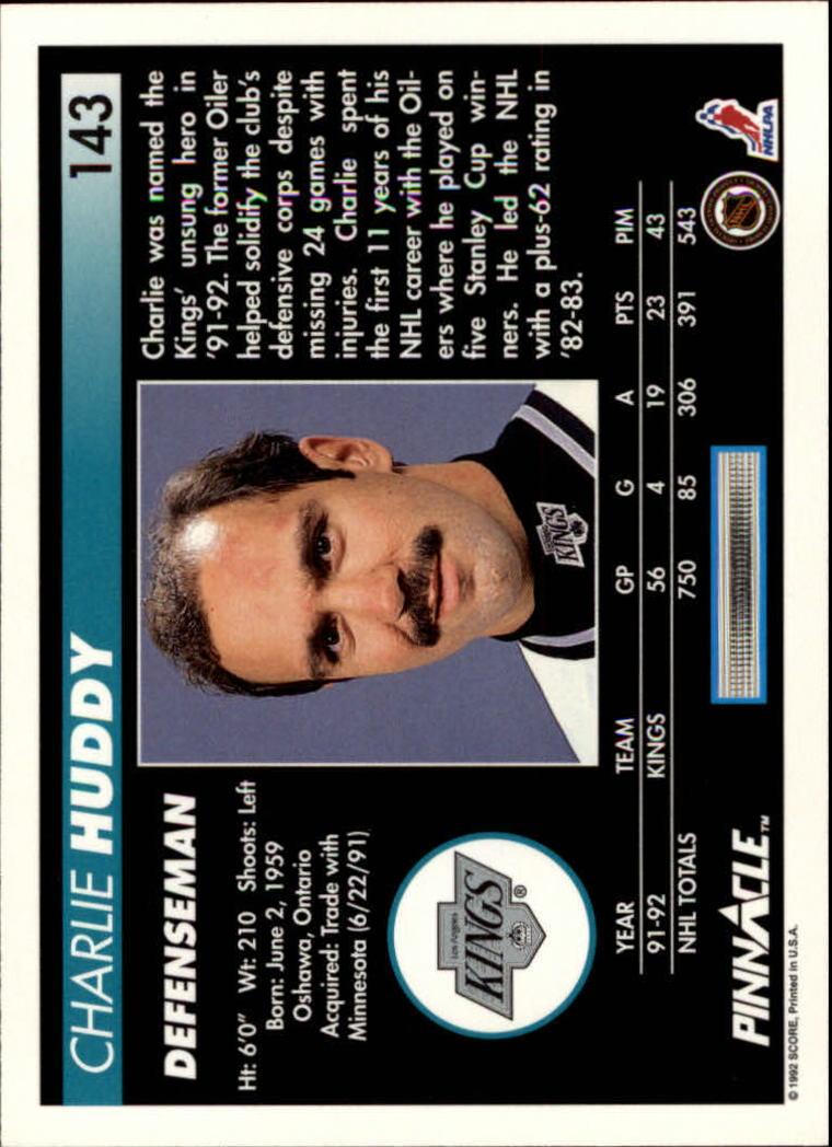 1992-93-Pinnacle-American-HK-039-s-1-210-You-Pick-Buy-10-cards-FREE-SHIP miniature 279