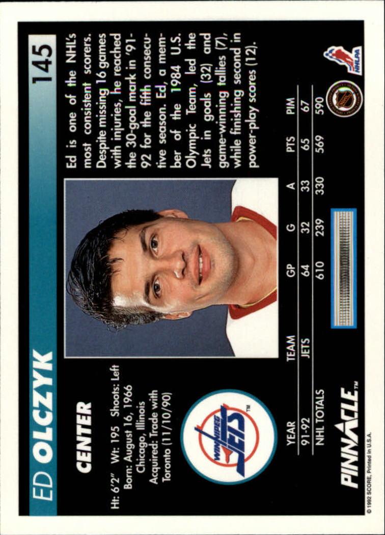 1992-93-Pinnacle-American-HK-039-s-1-210-You-Pick-Buy-10-cards-FREE-SHIP miniature 283